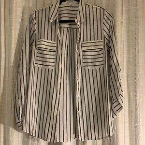 Express stripped top size M